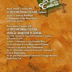 12-13-14 Gennaio, I Quartieri, le Officine della Cultura