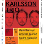 14 aprile, Daniel Karlsson Trio