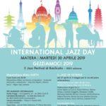 30 Aprile 2019, Giornata Internazionale del Jazz